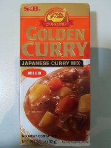 S and B Golden Curry Japanese Curry Mix Mild