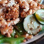 Dukkah Chicken With Hummus
